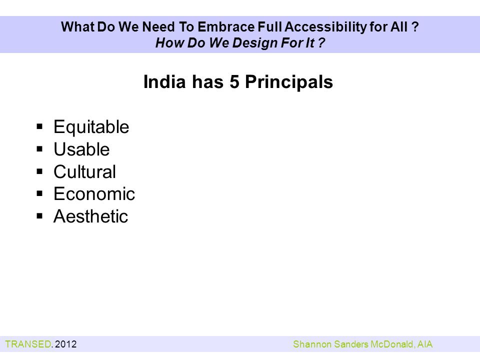 What Do We Need To Embrace Full Accessibility for All .