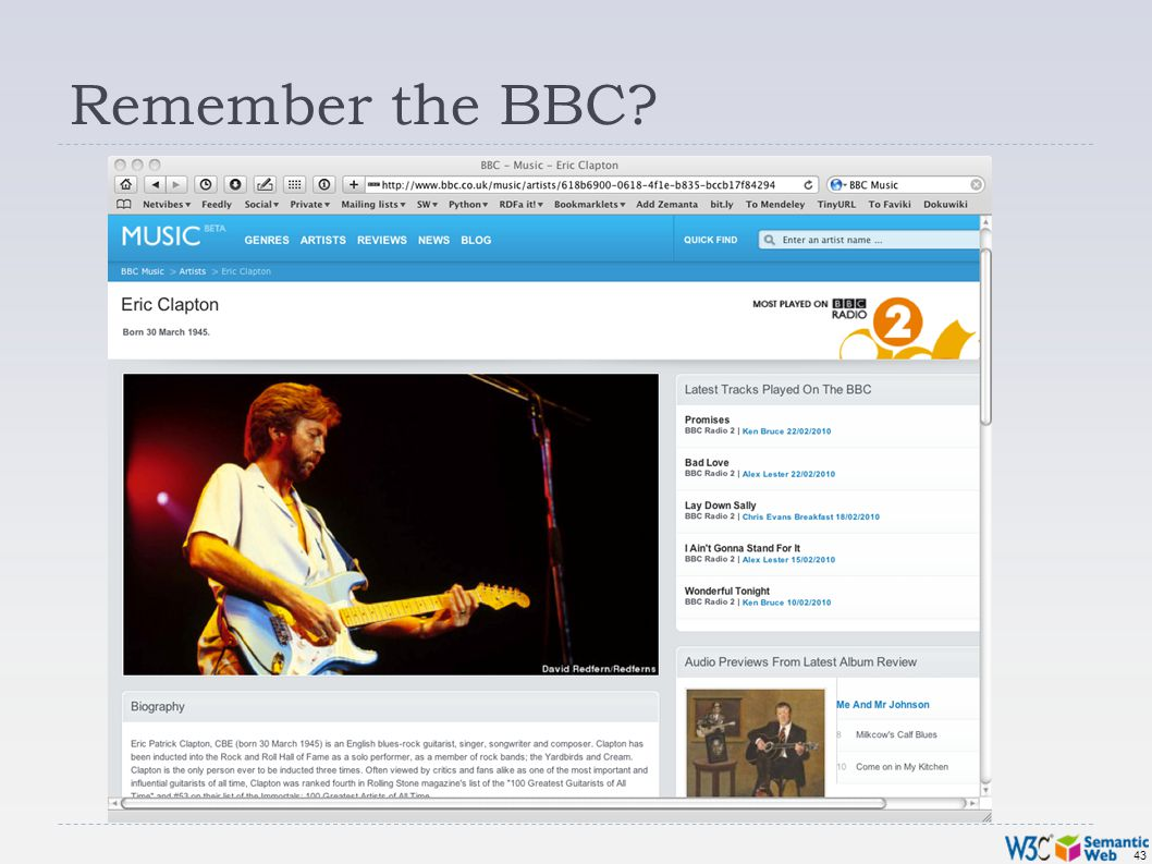 43 Remember the BBC?