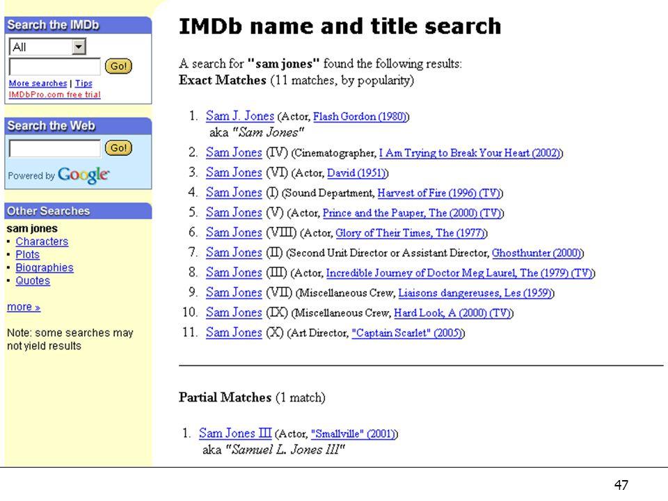 47 IMDb