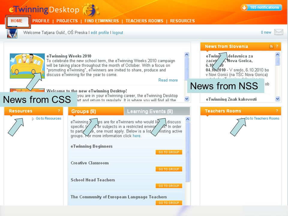News from CSS News from NSS