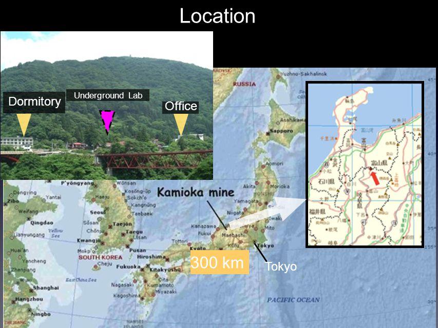 Masaki Yamashita Location Tokyo Dormitory Underground Lab Office 300 km