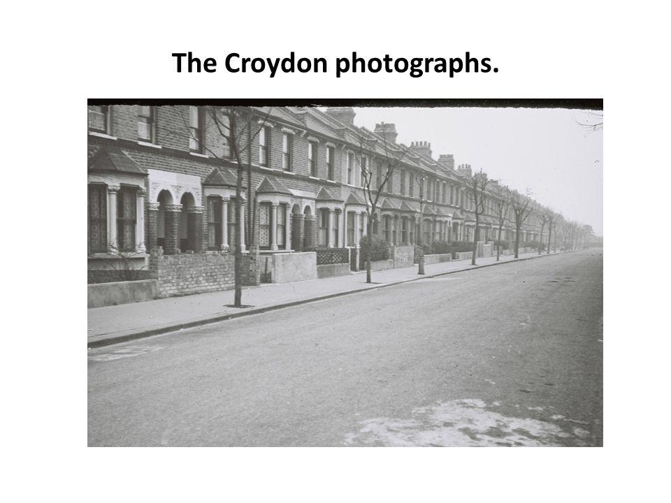 The Croydon photographs.