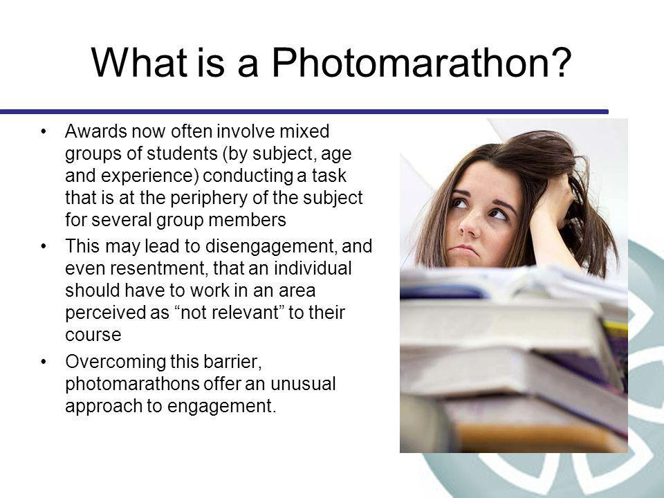 What is a Photomarathon.