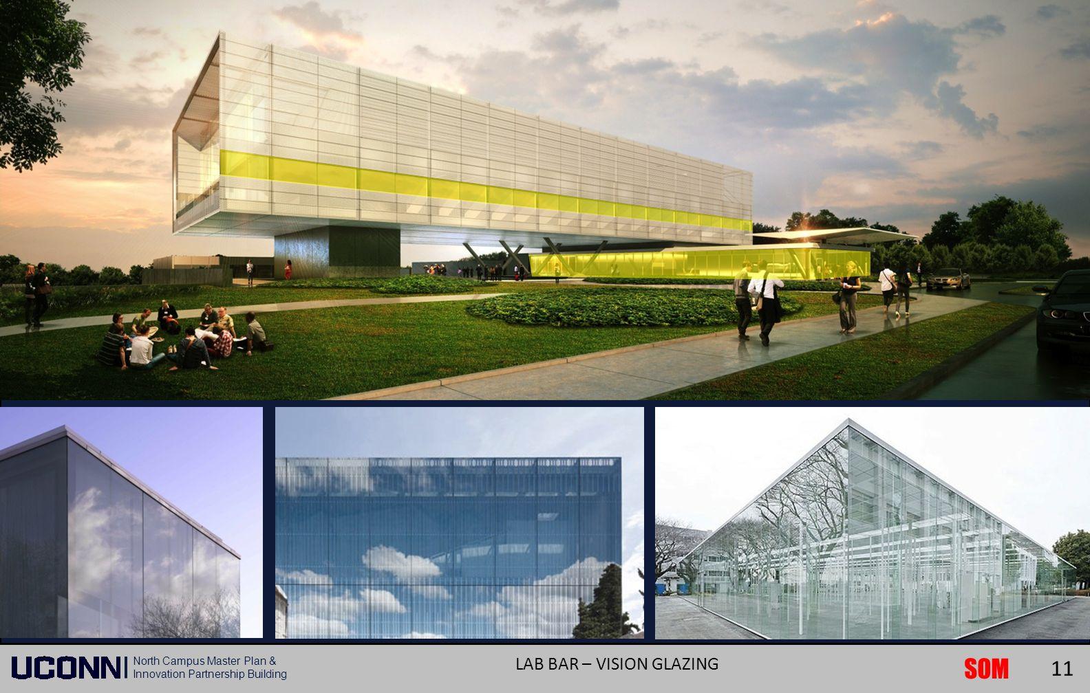 SOM North Campus Master Plan & Innovation Partnership Building LAB BAR – VISION GLAZING 11