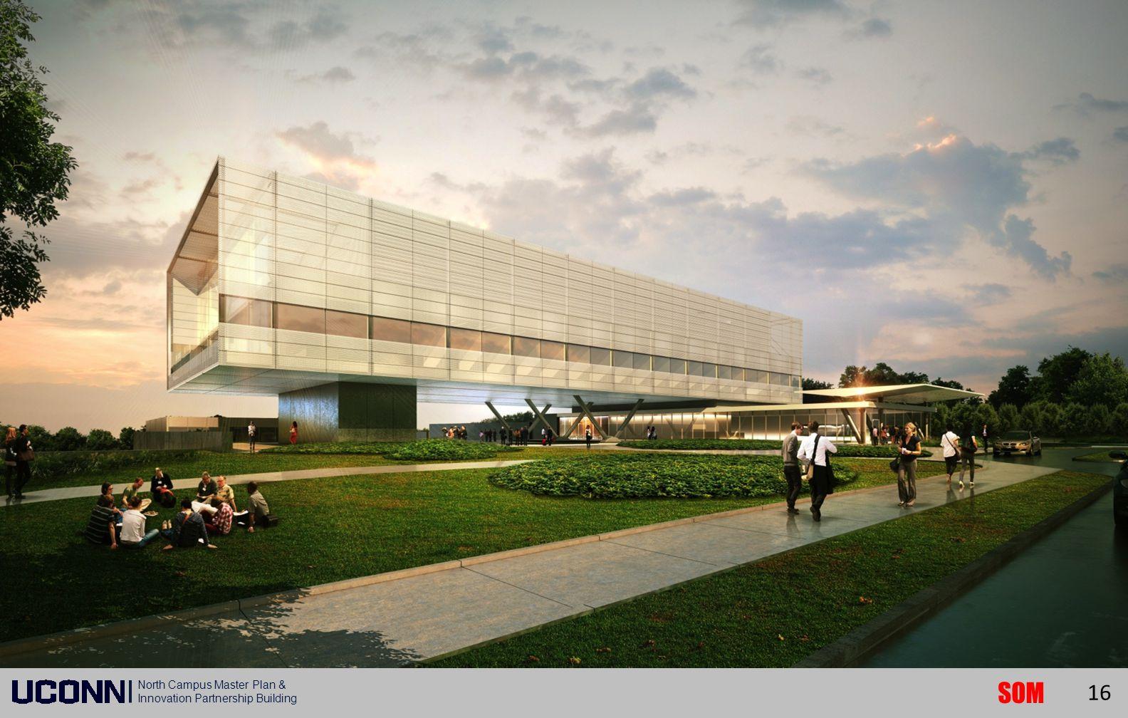 SOM North Campus Master Plan & Innovation Partnership Building 16