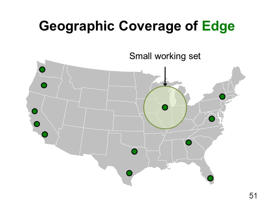 Geographic Coverage of Edge 51