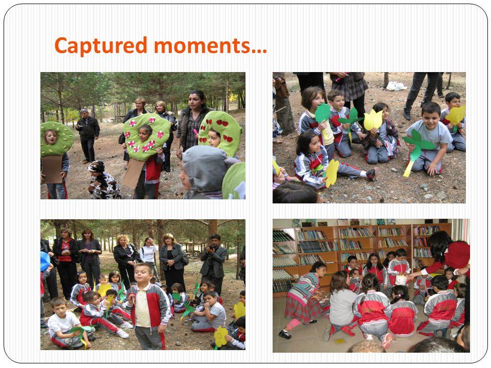 Captured moments …