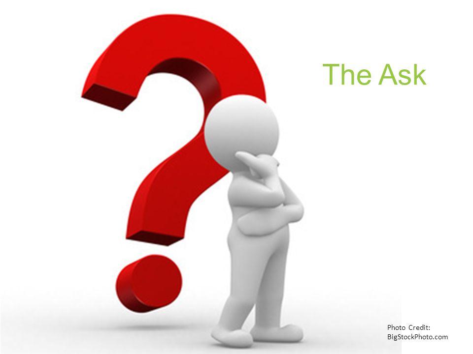 The Ask Photo Credit: BigStockPhoto.com