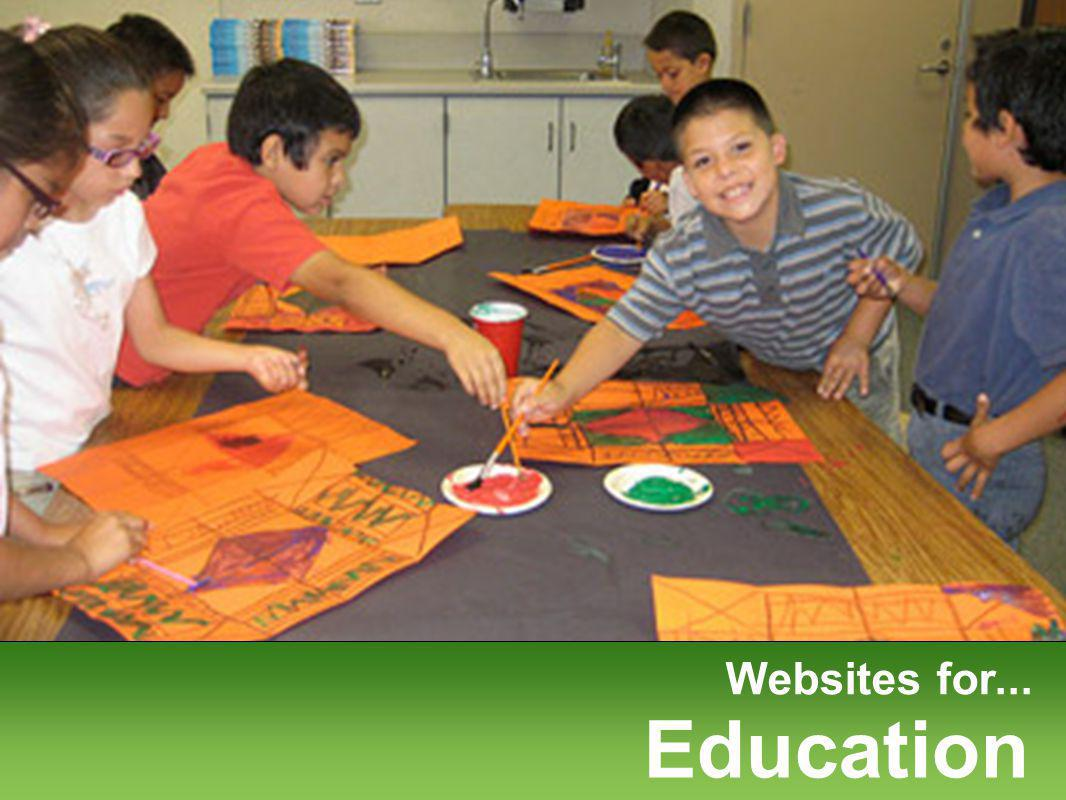 Websites for... Education