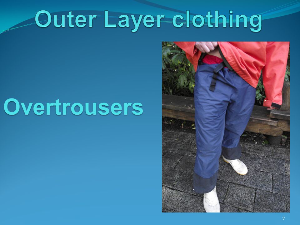 7 Overtrousers