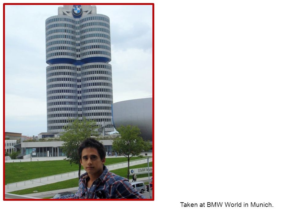 Taken at BMW World in Munich.