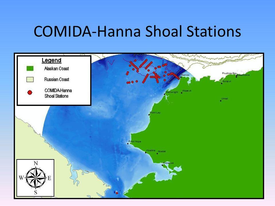 COMIDA-Hanna Shoal Stations