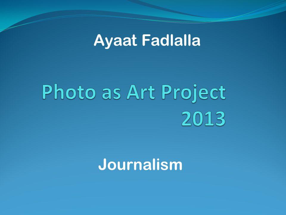 Ayaat Fadlalla Journalism