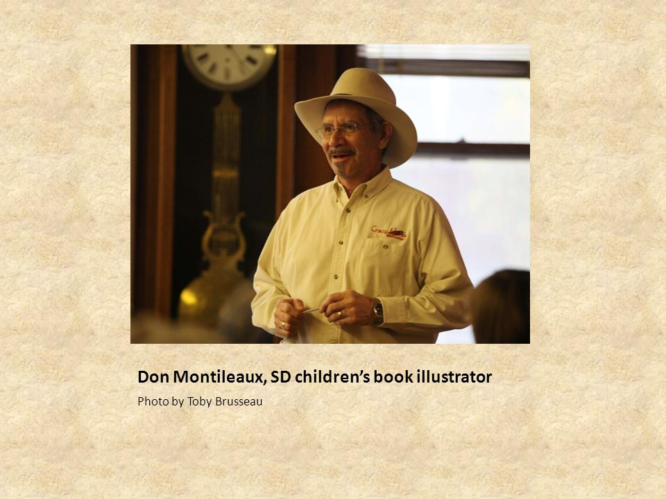 Don Montileaux, SD childrens book illustrator Photo by Toby Brusseau