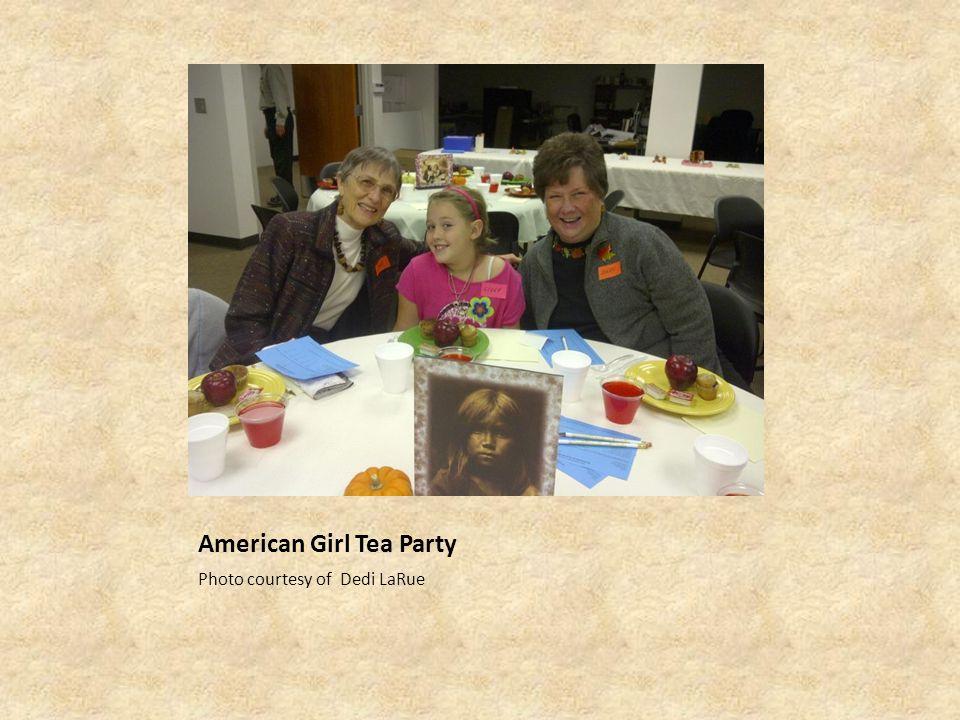 American Girl Tea Party Photo courtesy of Dedi LaRue
