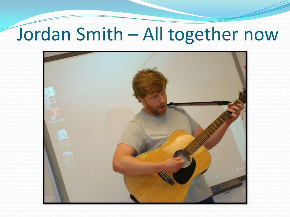 Jordan Smith – All together now