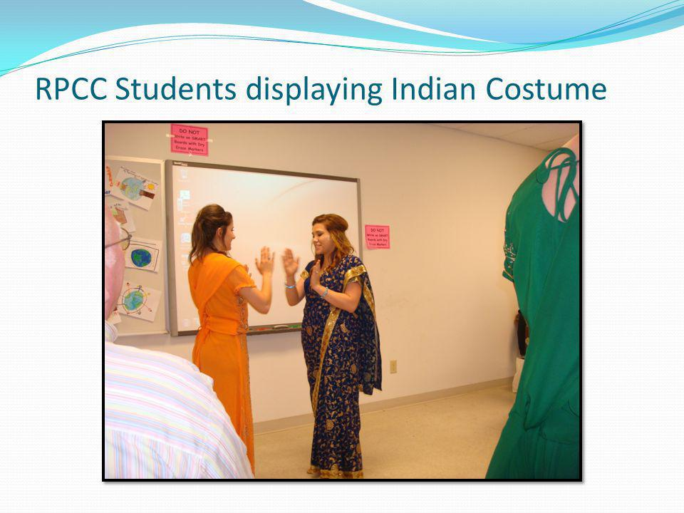 RPCC Students in Indian Costume