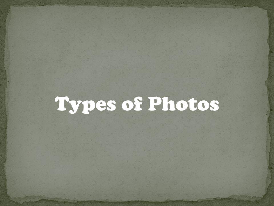 Types of Photos