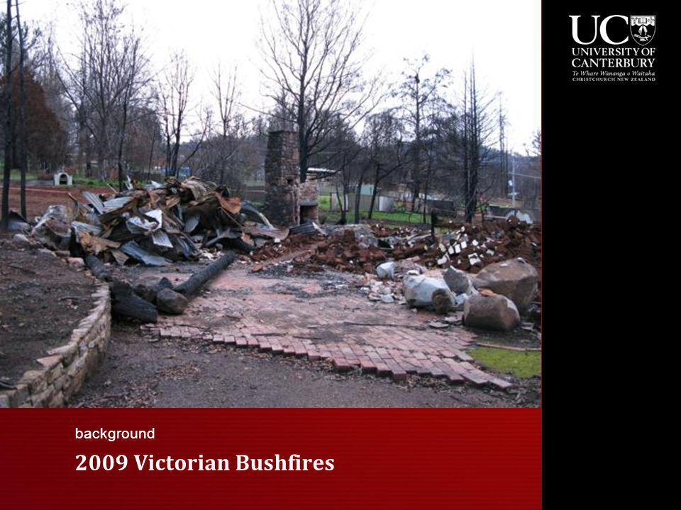 2009 Victorian Bushfires background