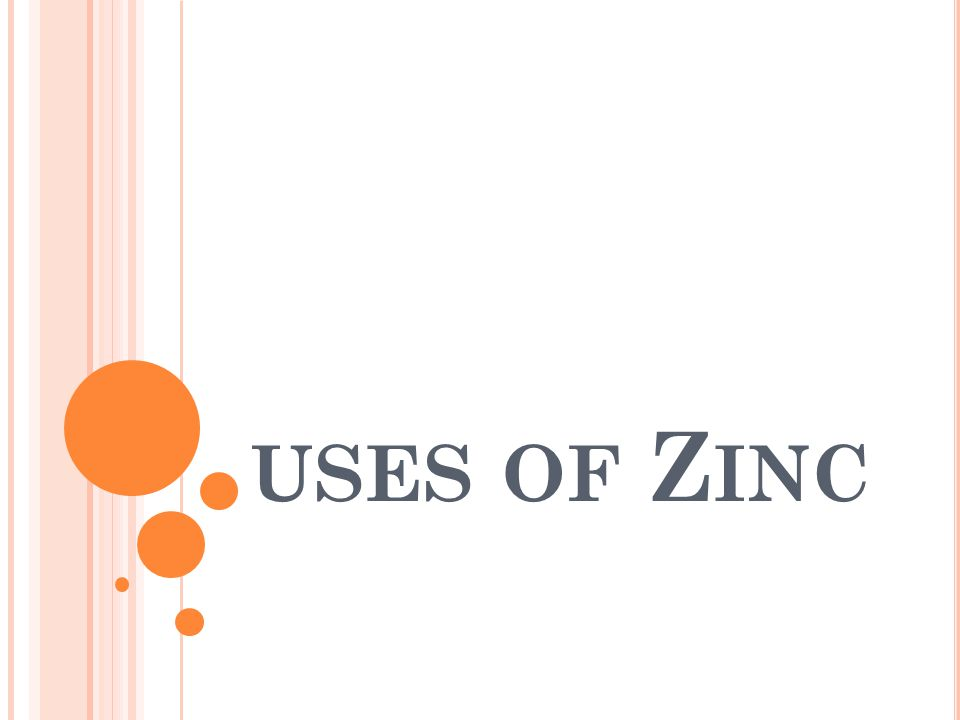 USES OF Z INC