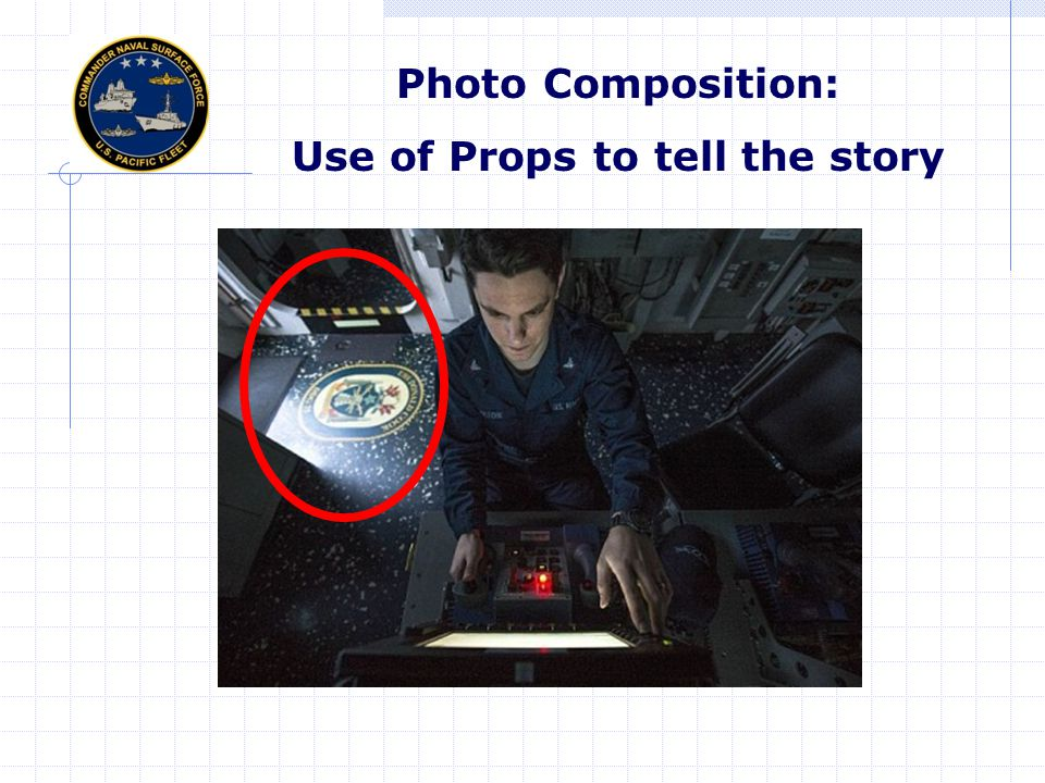 Photo Composition: Use of Props to tell the story