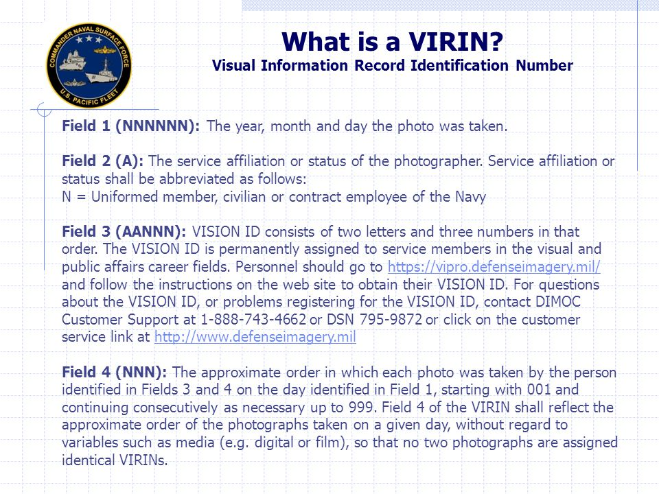 Submitting photos and captions If you have Photoshop, imbed caption and photographer information in the file info (Not common for CDPAO) Submit photos as JPG files with the VIRIN as the file name (140430-N-ZZ999-001).
