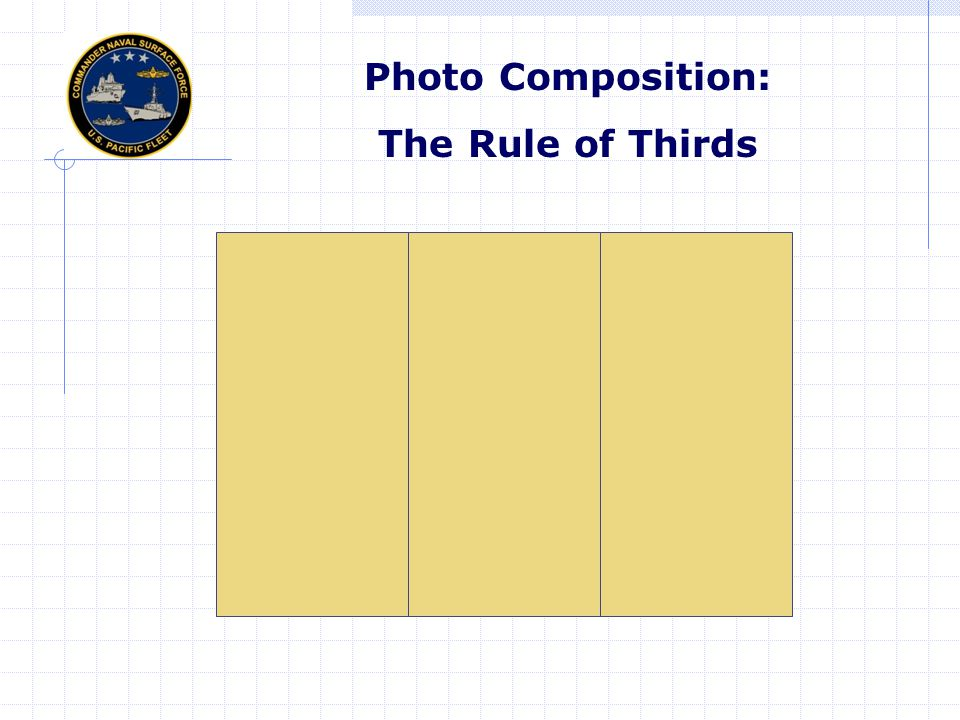 Photo Composition: The Rule of Thirds