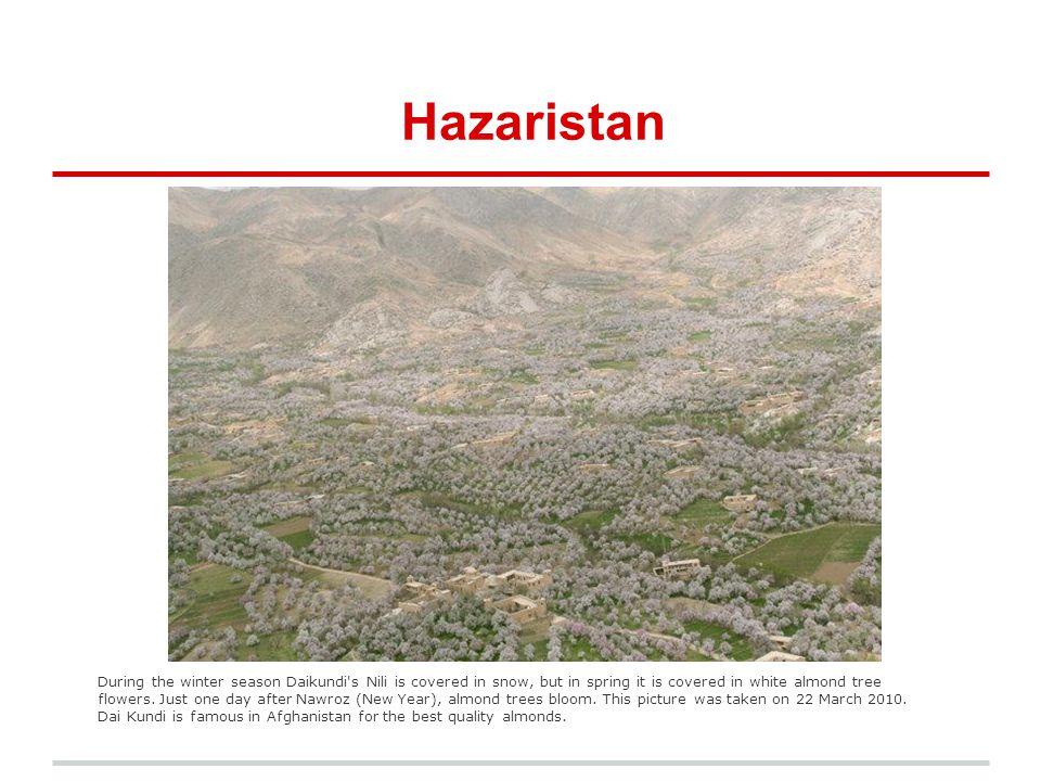 Hazara Faces Preparing for the long and harsh winter season in Bamyan.
