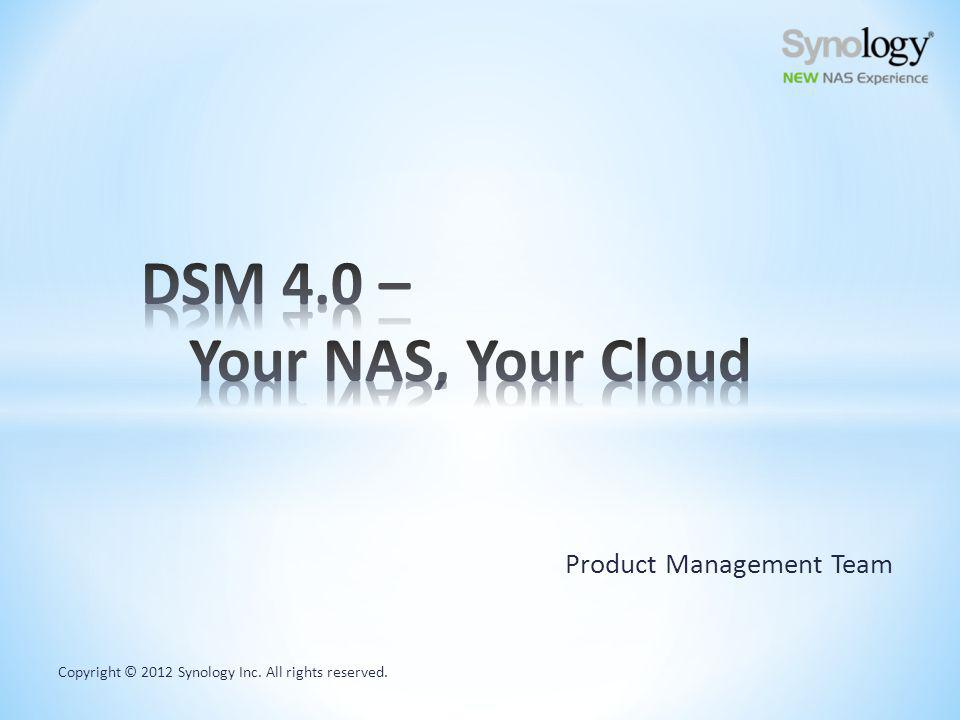 Heartbeat feature allows you to monitor the online status of your Synology NAS anywhere Offer Synology membership service & product registration, available at MyDS.synology.com chad.DSmyNAS.org MyDS Center Robert (MIS) on vacation My NAS is Live!