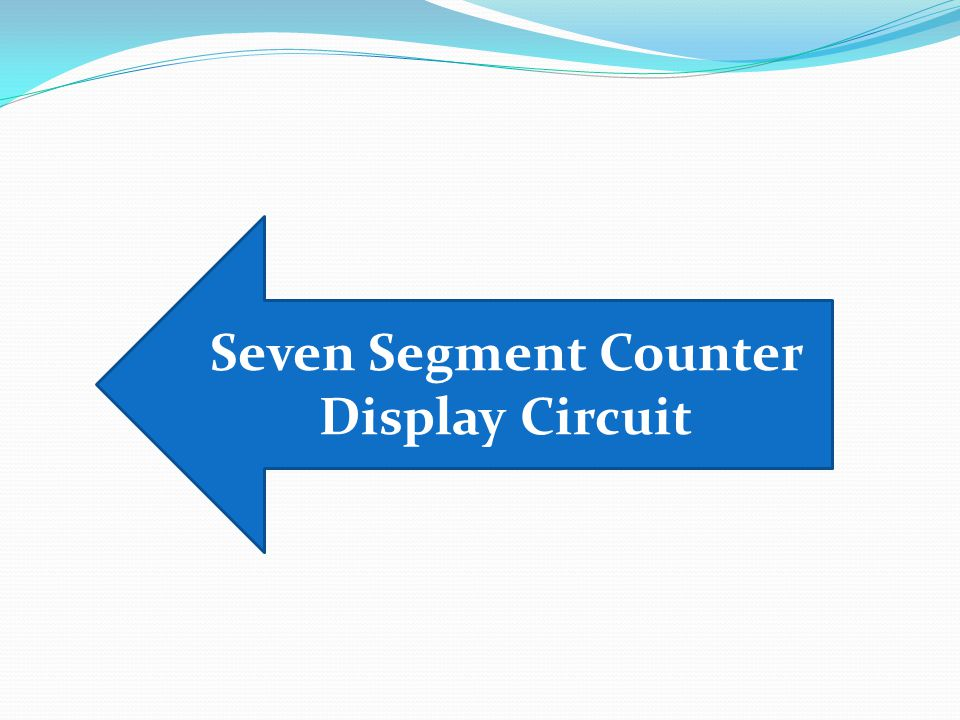 Description Here is the circuit diagram of a seven segment counter based on the counter IC CD 4033.This circuit can be used in conjunction with various circuits where a counter to display the progress adds some more attraction.