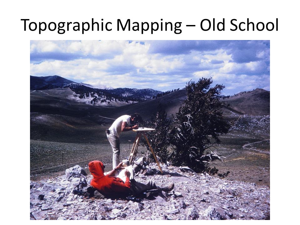 Topographic Mapping – Old School