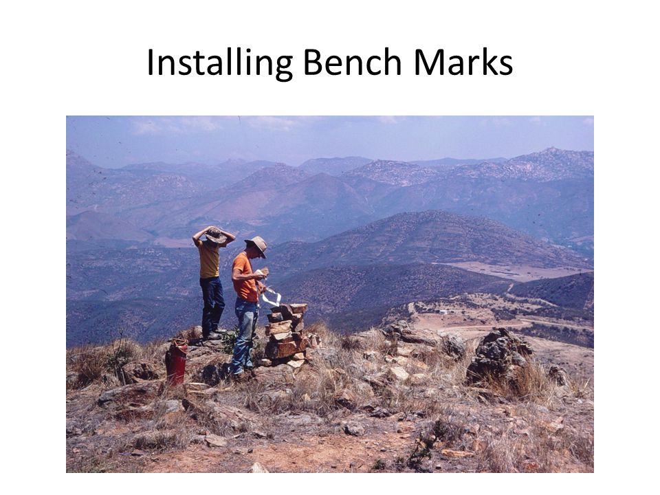 Installing Bench Marks