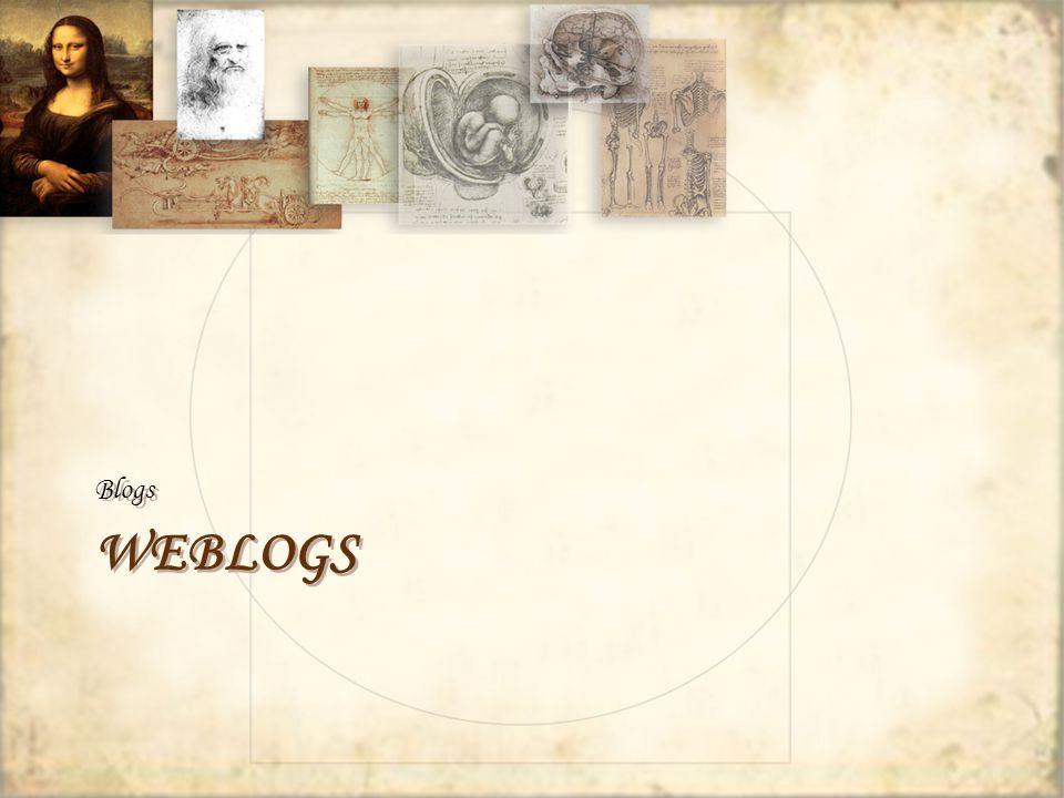 WEBLOGS Blogs
