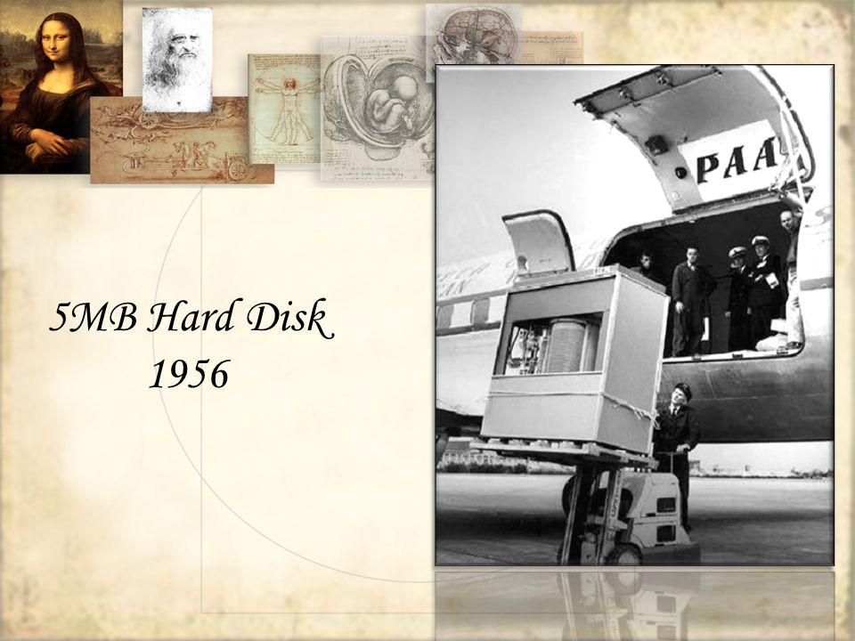 5MB Hard Disk 1956