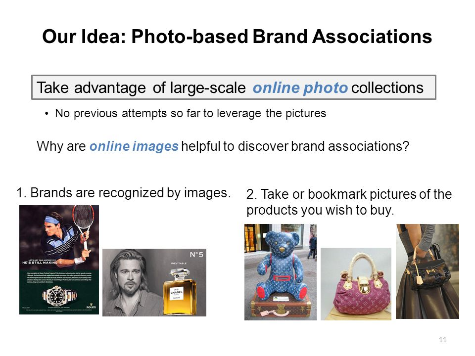 11 2.Take or bookmark pictures of the products you wish to buy.