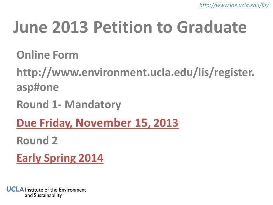Online Form http://www.environment.ucla.edu/lis/register.