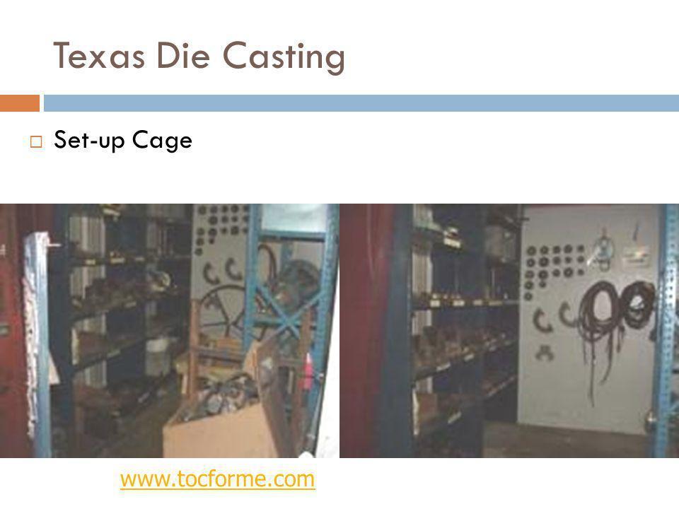 Texas Die Casting Set-up Cage www.tocforme.com