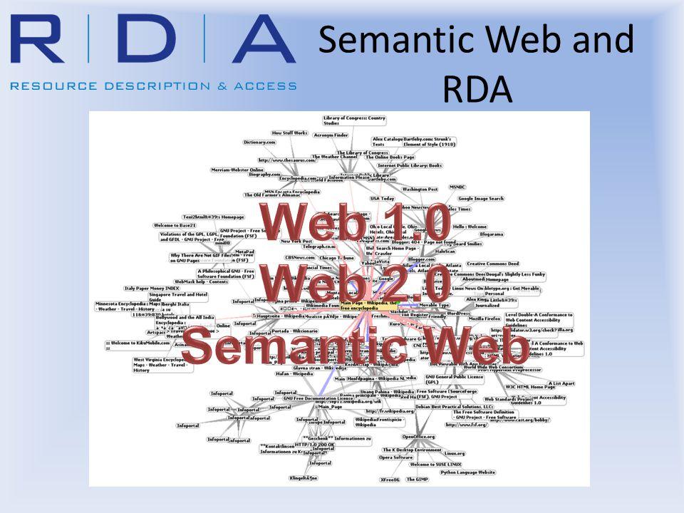 Semantic Web and RDA