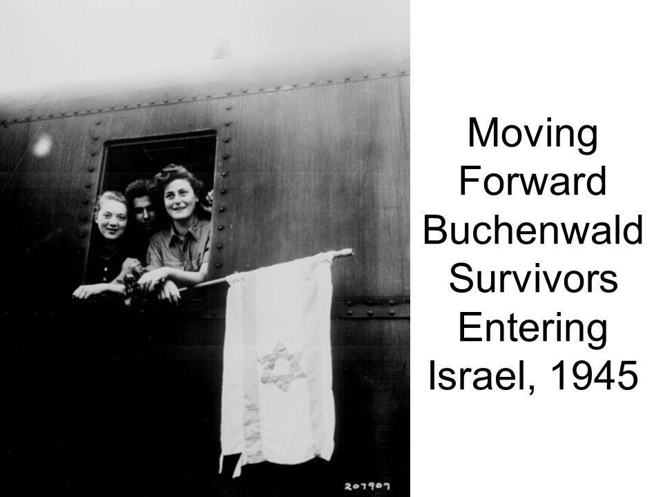 Moving Forward Buchenwald Survivors Entering Israel, 1945