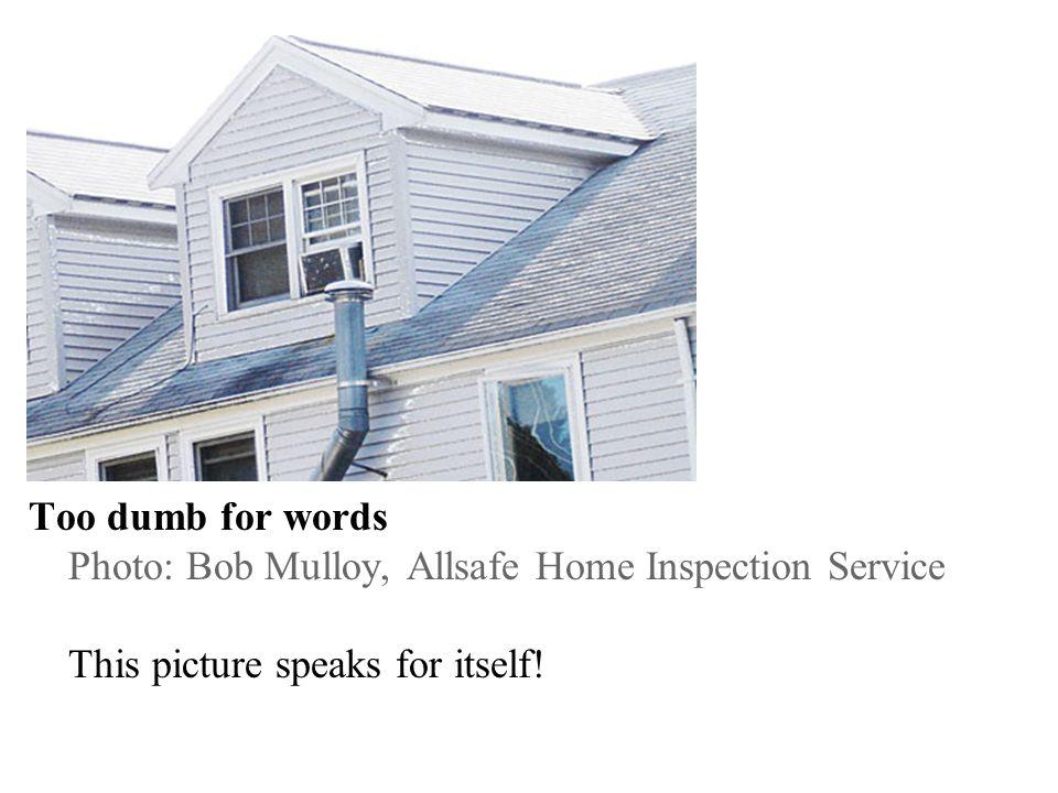 Details, details Photo: Lon Grossman, Technihouse Inspections, Inc. Flashingwho needs flashing?!