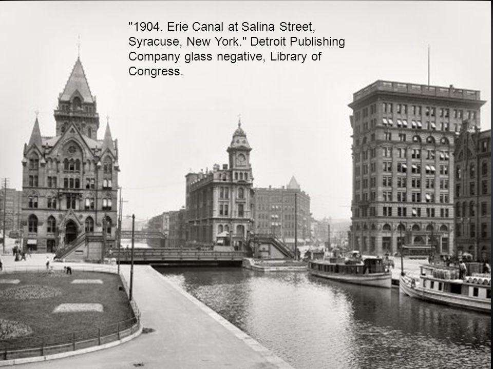 Syracuse, N.Y., circa 1905.