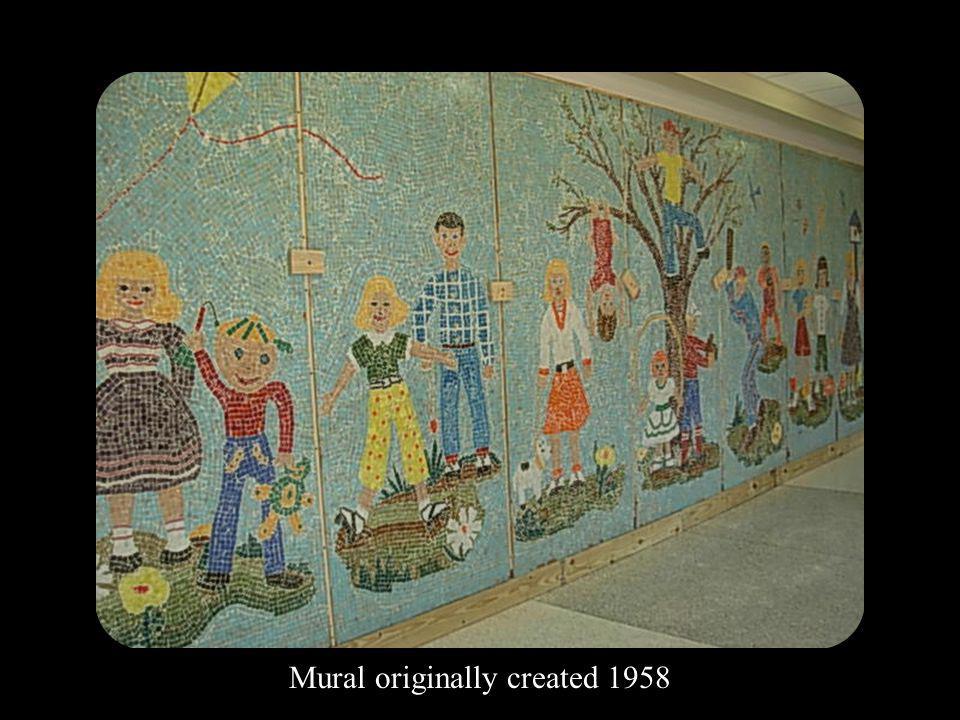 Mural originally created 1958