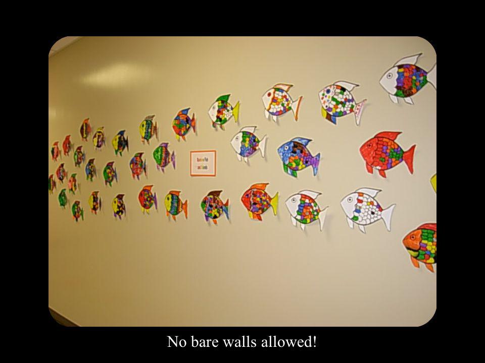 No bare walls allowed!
