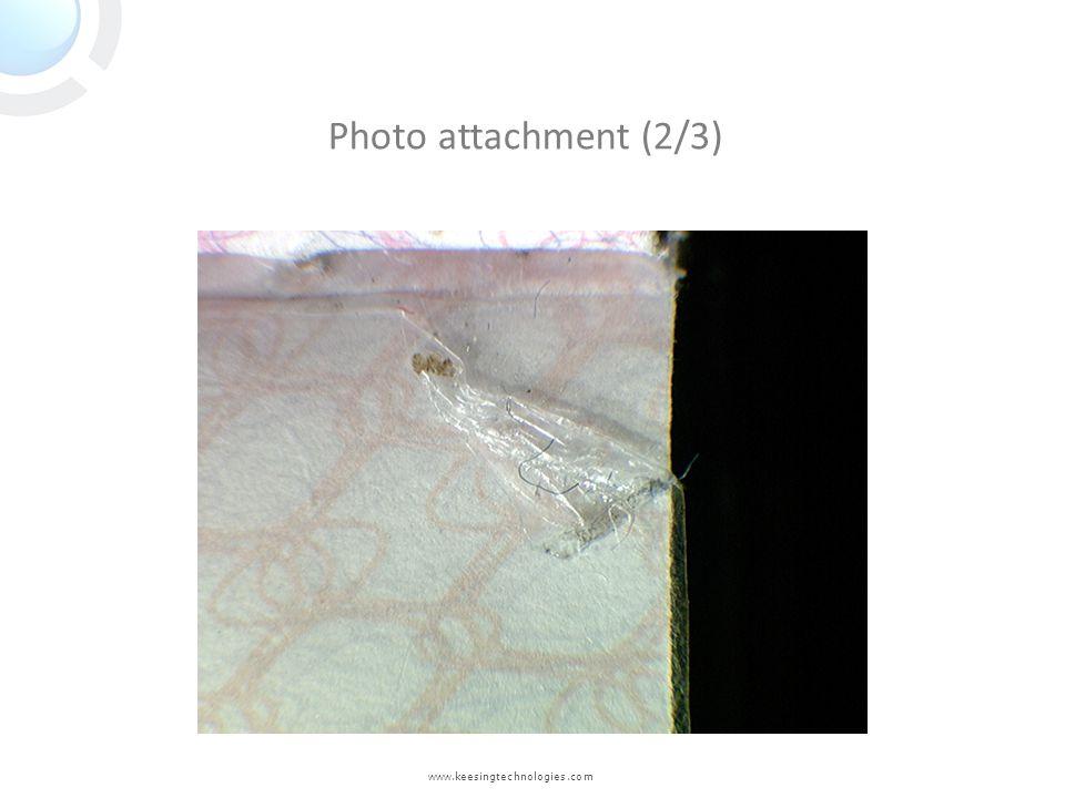 www.keesingtechnologies.com Photo attachment (2/3)