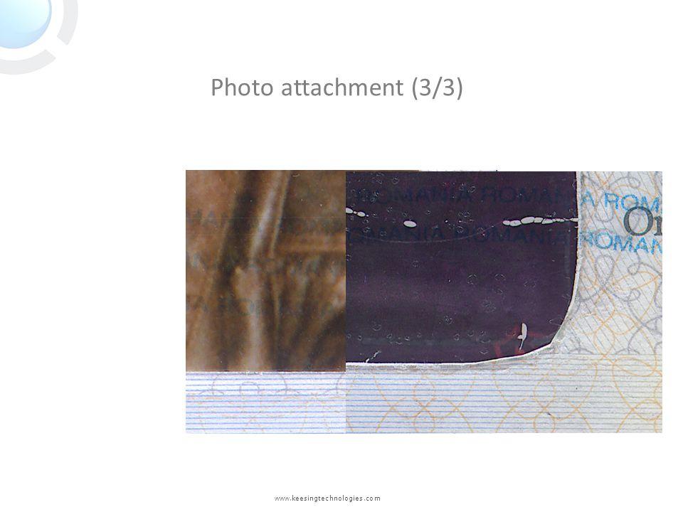 www.keesingtechnologies.com Photo attachment (3/3)