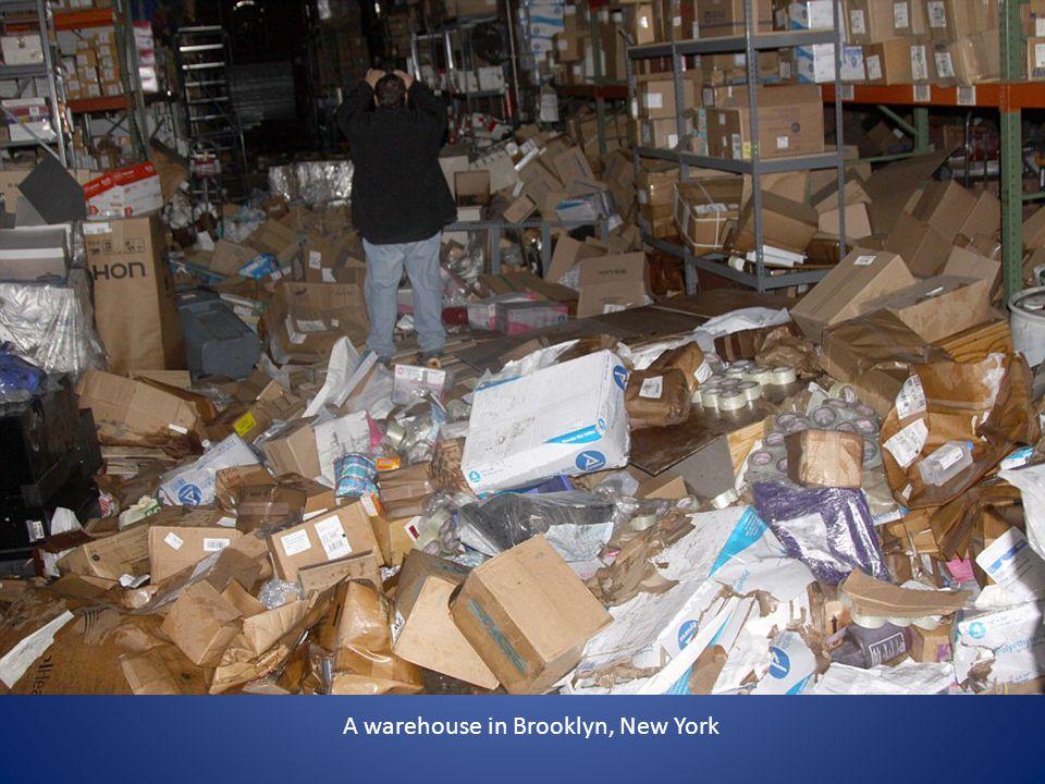 A warehouse in Brooklyn, New York