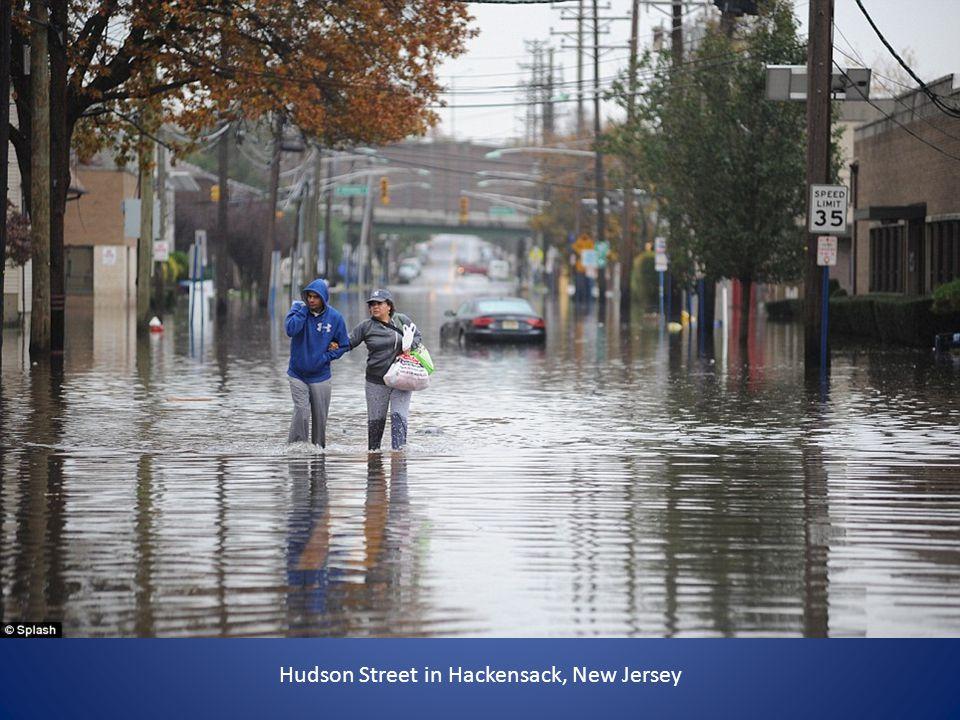 Hudson Street in Hackensack, New Jersey