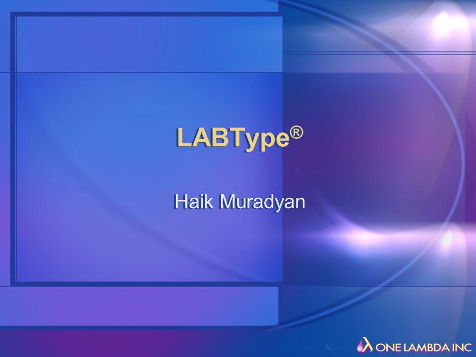 LABType ® Haik Muradyan
