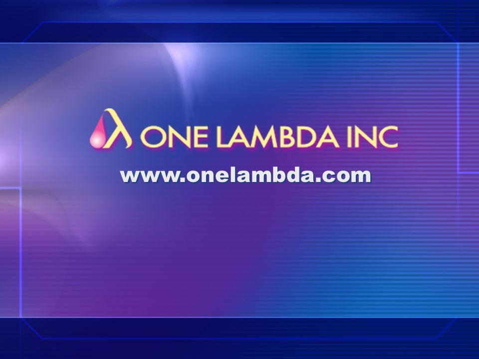 www.onelambda.com www.onelambda.com