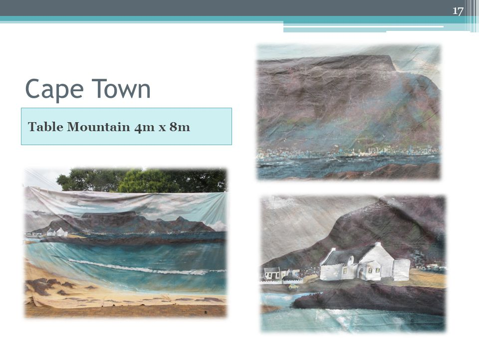 Cape Town Table Mountain 4m x 8m 17